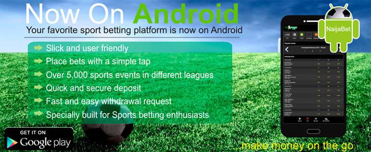 NaijaBet mobile app