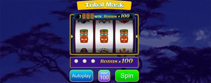 SupaBets Tribal Mask
