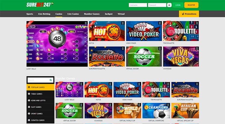 SureBet247 Casino